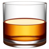 Tumbler Glass Emoji on Apple macOS and iOS iPhones