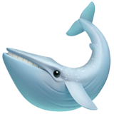 Whale Emoji on Apple macOS and iOS iPhones