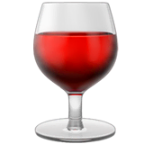 Wine Glass Emoji on Apple macOS and iOS iPhones
