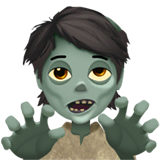 Zombie Emoji on Apple macOS and iOS iPhones