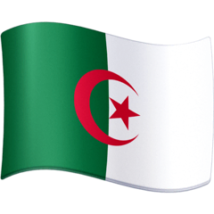 Flag: Algeria Emoji on Facebook