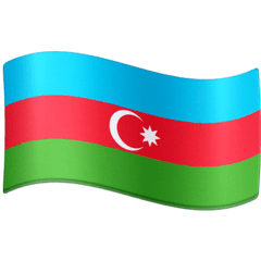 Flag: Azerbaijan Emoji on Facebook