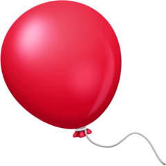 Balloon Emoji on Facebook