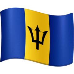 Flag: Barbados Emoji on Facebook