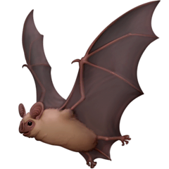 Bat Emoji on Facebook