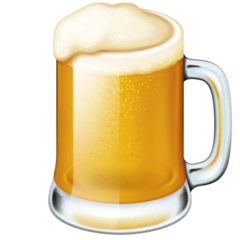 Beer Mug Emoji on Facebook