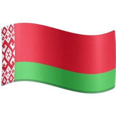 Flag: Belarus Emoji on Facebook