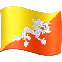 Flag: Bhutan Emoji on Facebook