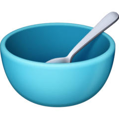 Bowl With Spoon Emoji on Facebook