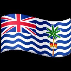 Bandera del Territorio Británico del Océano Índico Emoji Facebook