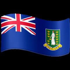 Bandiera delle Isole Vergini Britanniche Emoji Facebook