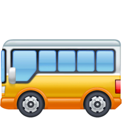 Bus Emoji Facebook