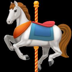 Cavallo della giostra Emoji Facebook