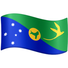 Flag: Christmas Island Emoji on Facebook