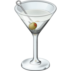 Cocktail Glass Emoji on Facebook