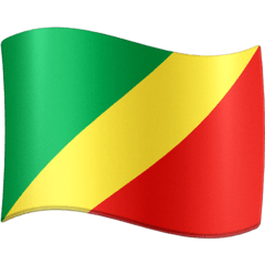 Flag: Congo - Brazzaville Emoji on Facebook