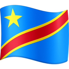 Flag: Congo - Kinshasa Emoji on Facebook
