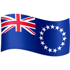 Flag: Cook Islands Emoji on Facebook
