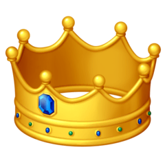 Crown Emoji on Facebook