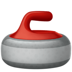 Pierre de curling Émoji Facebook