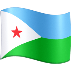 Flag: Djibouti Emoji on Facebook