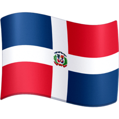 Flag: Dominican Republic Emoji on Facebook