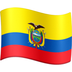 Bandeira do Equador Emoji Facebook