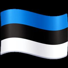 Bandera de Estonia Emoji Facebook