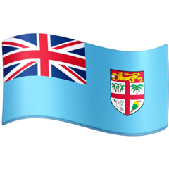 Flag: Fiji Emoji on Facebook