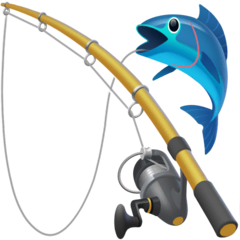Fishing Pole Emoji on Facebook