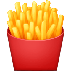 French Fries Emoji on Facebook