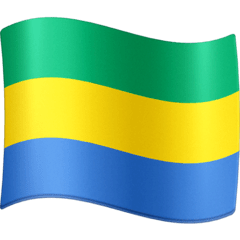 Flag: Gabon Emoji on Facebook