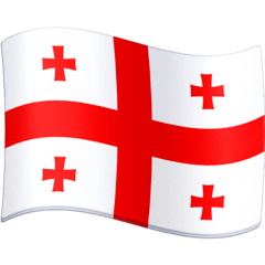 Flag: Georgia Emoji on Facebook