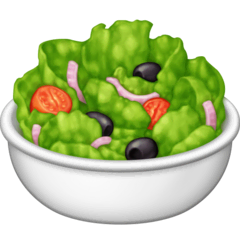 Green Salad Emoji on Facebook