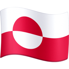Flag: Greenland Emoji on Facebook