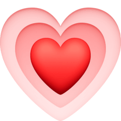 Growing Heart Emoji on Facebook