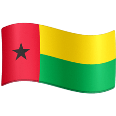 Flag: Guinea-Bissau Emoji on Facebook