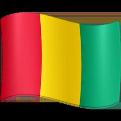 Bandera de Guinea Emoji Facebook