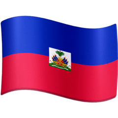 Flag: Haiti Emoji on Facebook