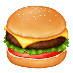 Hamburger Emoji Facebook