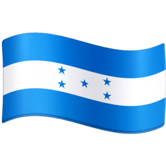 Flag: Honduras Emoji on Facebook