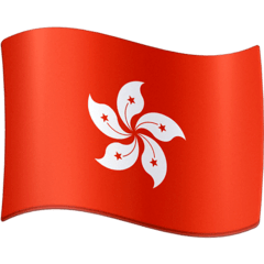 Flag: Hong Kong Sar China Emoji on Facebook