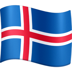 Flag: Iceland Emoji on Facebook