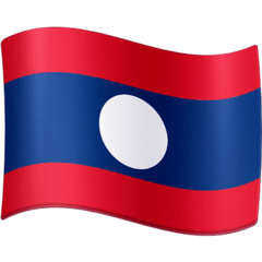 Flag: Laos Emoji on Facebook
