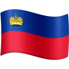 Flag: Liechtenstein Emoji on Facebook