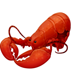 Lobster Emoji on Facebook