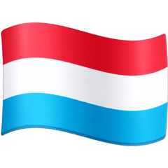 Flag: Luxembourg Emoji on Facebook