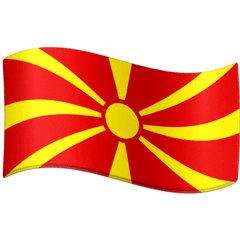 Flag: North Macedonia Emoji on Facebook