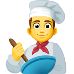 Chef uomo Emoji Facebook