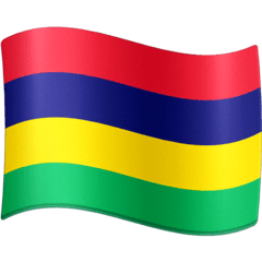Flag: Mauritius Emoji on Facebook